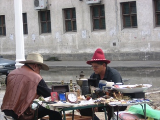 targ de obiecte vechi si carti la zilele bucurestiului