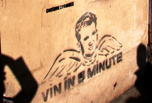 vin in 5 minute stencil