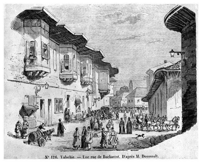 ulita in bucuresti 1841