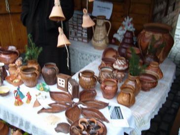 Produse din ceramica si lemn