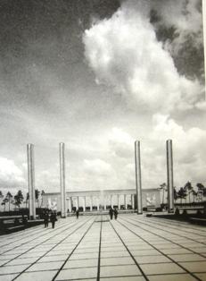 Curtea de Onoare a Expozitiei, Luna Bucurestiului 1936