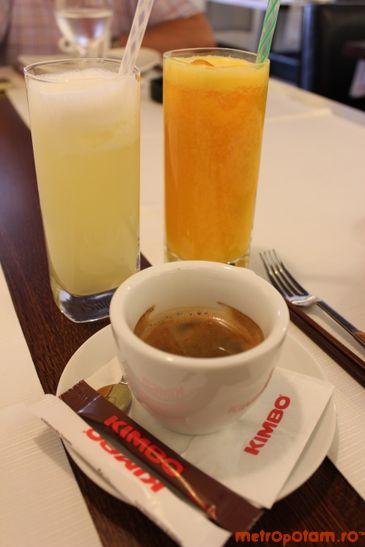 Limonada, fresh, espresso