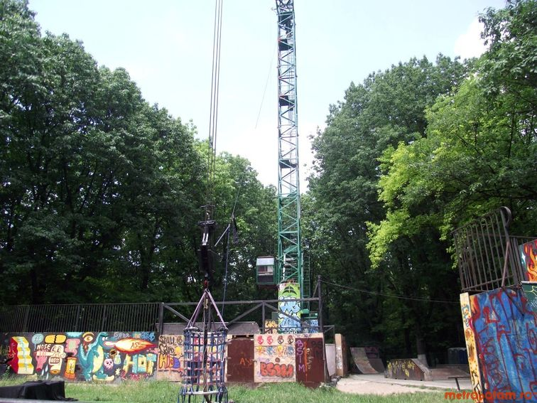 Bungee Jumping in Herastrau