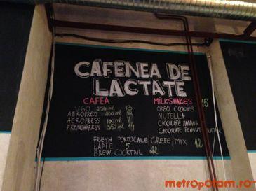 Cafenea de lactate
