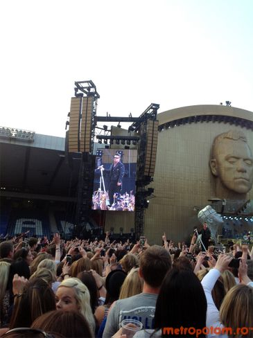 Concert Robbie Williams in Glasgow