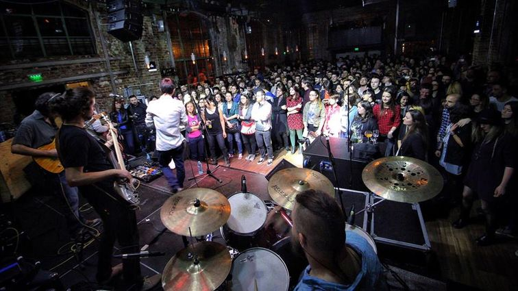 Eyedrops in Expirat - lansare de album sold-out si un concert de pus la inima - PREZENT