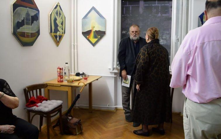 "Vernisajul Expozitiei de pictura ""Facerea""- Elena Gheorghe"