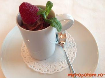Mousse au chocolat Michel Cluizel