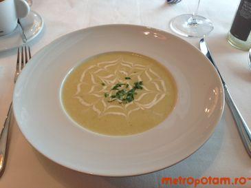 Supa crema de legume de sezon