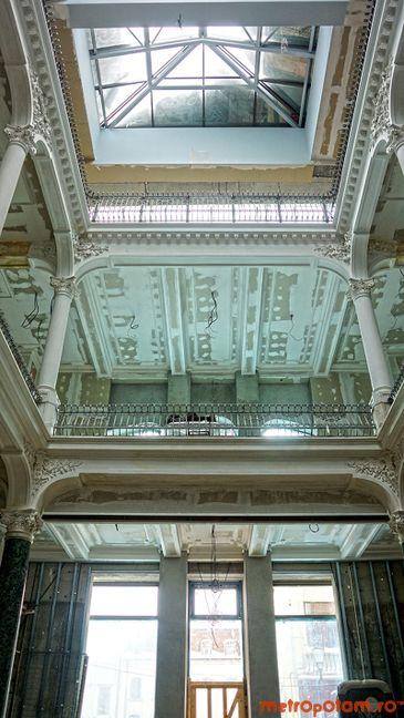 Libraria Carturesti din palatul Chrissoveloni, Centrul Vechi