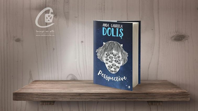 "Debut literar la 15 ani - de vorba cu Anda Gabriela Dolis: ""M-am nascut intr-o biblioteca"""
