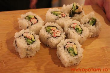 Californian rolls, korean style