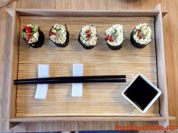 Raw sushi