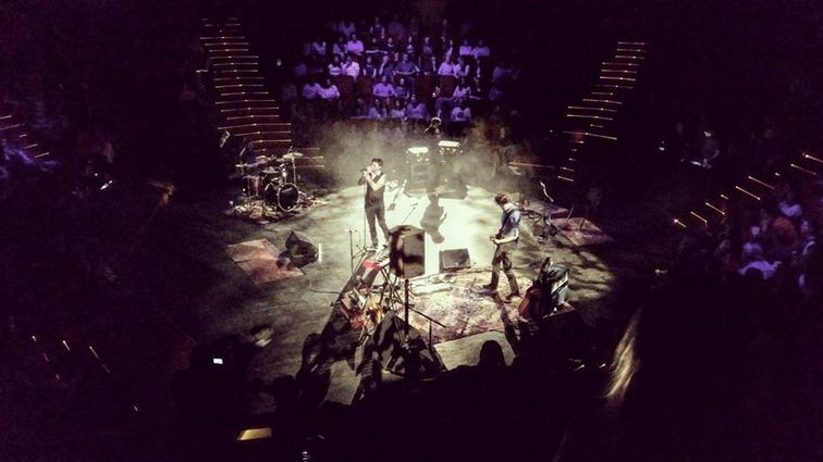 Travka 15 ani la TNB: un concert de pus in rama si de povestit nepotilor