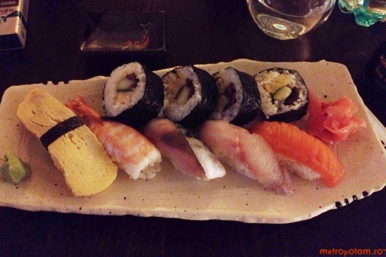 Zen Sushi Dorobanti Locul Ideal Pentru Un Sushi Lunch Si Un Desert Delicios Unde Iesim In Oras