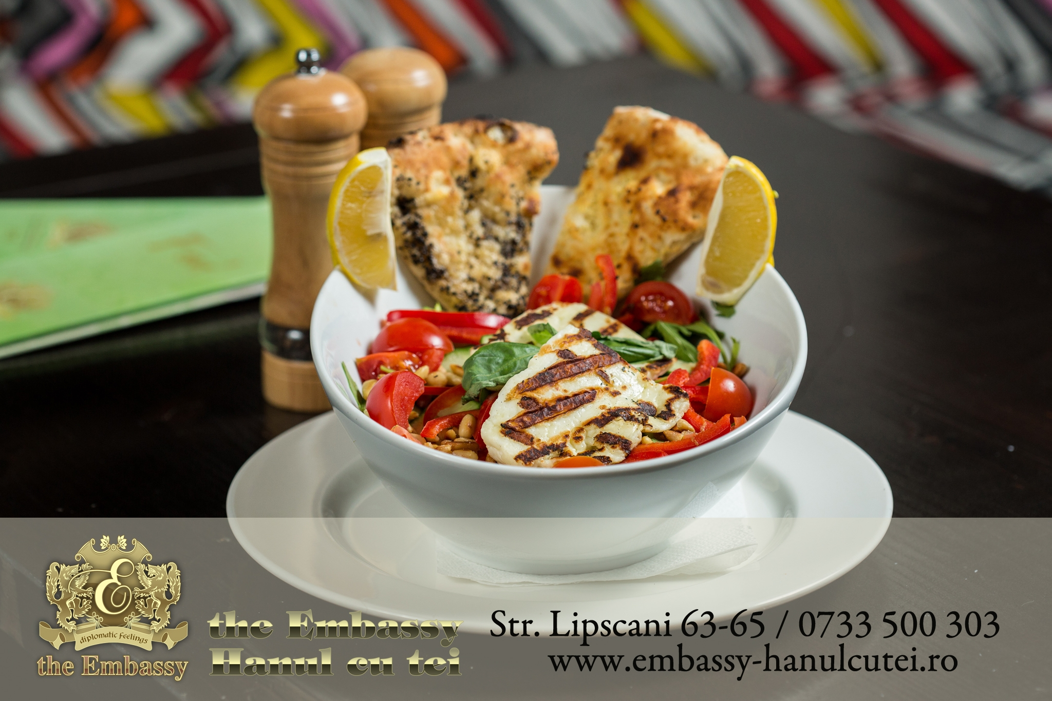 Salata Halloumi