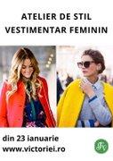 Alte evenimente din Bucuresti - Atelier de stil vestimentar feminin