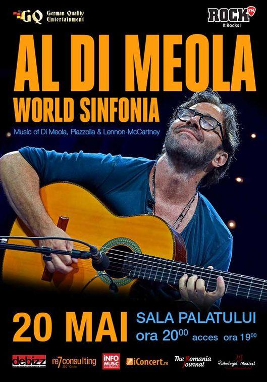 Concerte din Bucuresti - Al Di Meola - World Sinfonia