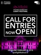 Festivaluri din Bucuresti - Call for Entries SPOTLIGHT 2018