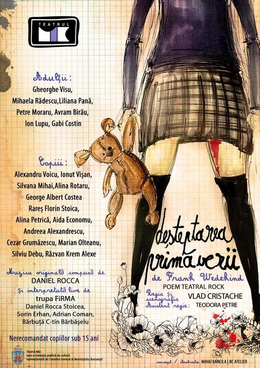 Piese de teatru din Bucuresti - Desteptarea Primaverii