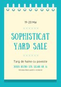 Sophisticat Yard Sale - Targ de haine cu poveste
