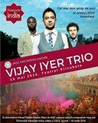 """VIJAY IYER TRIO (SUA) + proiectie de film in deschidere """"Rituri de Holi"""" (muzica Vijay Iyer)"""