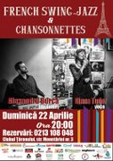 Concerte din Bucuresti - French Swing-Jazz & Chansonnettes