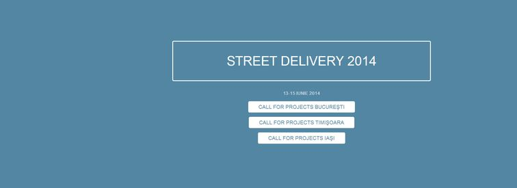 Street Delivery 2014