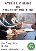 Atelier online de content writing