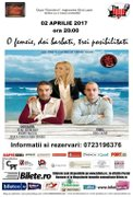 Piese de teatru din Bucuresti - O femeie, doi barbati, trei posibilitati