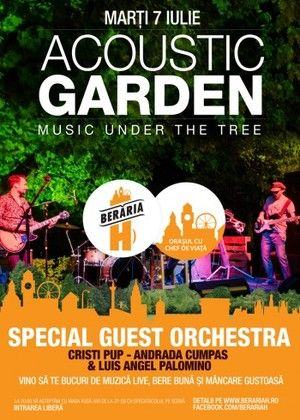 Concerte - Acoustic Garden cu Special Guest Orchestra - Music Under The Tree
