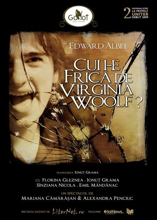 Piese de teatru - Cui i-e frica de Virginia Woolf?