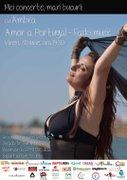 Concerte din Bucuresti - Amor a Portugal - AMBRA (Fado music)