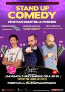 Spectacole din Romania - Stand-Up Comedy by Cristian Dumitru & Friends