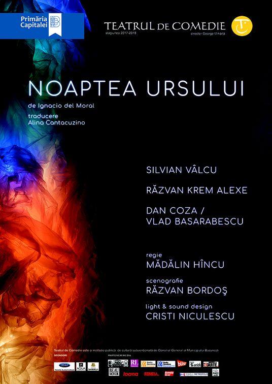 Piese de teatru din Bucuresti - Noaptea ursului