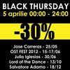 Comunicate de presa - Comunicat de presa: Black Thursday la magazinul Biletoo din Unirea, cu reduceri de 30% la bilete