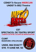 Spectacole din Bucuresti - Impro Battle - Trupa iELE vs. Urban Impro