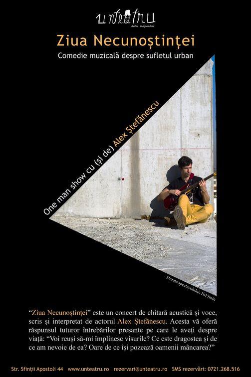 "Concerte - ""Ziua Necunostintei"" cu/de Alex Stefanescu"