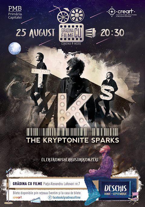 Concerte din Bucuresti - The Kryptonite Sparks