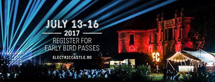 Festivaluri din Cluj-Napoca - Electric Castle 2017