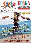 Sportive din Romania - Semimaraton Goana dupa sanatate - Alerg si sjut un copil 2018