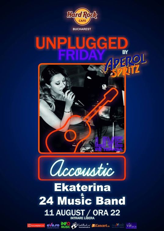 Unplugged Friday cu Ekaterina & 24 Music Band