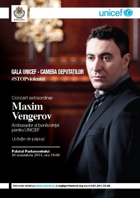 Maxim Vengerov - Gala UNICEF