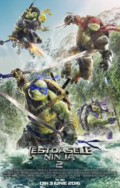 Testoasele Ninja 2 (Teenage Mutant Ninja Turtles: Out of the Shadows) (2016)