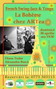 Concerte din Bucuresti - La Boheme - French Swing Jazz & Chansonete, Live