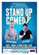 Spectacole din Bucuresti - Stand-up comedy cu Cristian Dumitru & Alex Serban