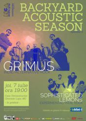 Backyard Acoustic Season - Grimus si Sophisticated Lemons
