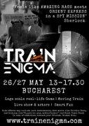 Train Enigma - avanpremiera probabil cel mai mare joc real (RO)