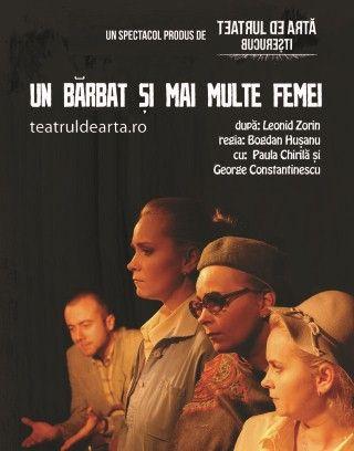 Piese de teatru - Un barbat si mai multe femei