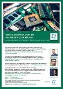 Conferinte din Bucuresti - What a company must do in case of a data breach